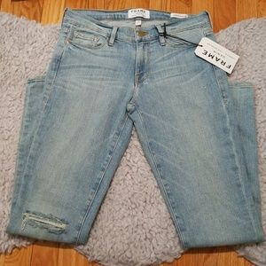 Frame Denim Le Skinny de Jeanne McKinney Jeans 27